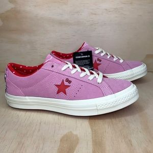 NEW Converse Hello Kitty One Star Limited Edition